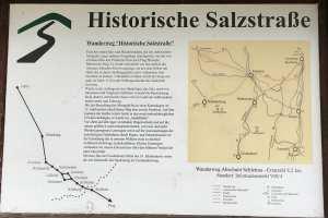 die Route der deutsch tschechischen Salzstrasse