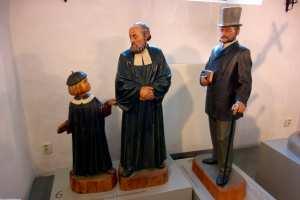 Lehrer Pastor und Schüler