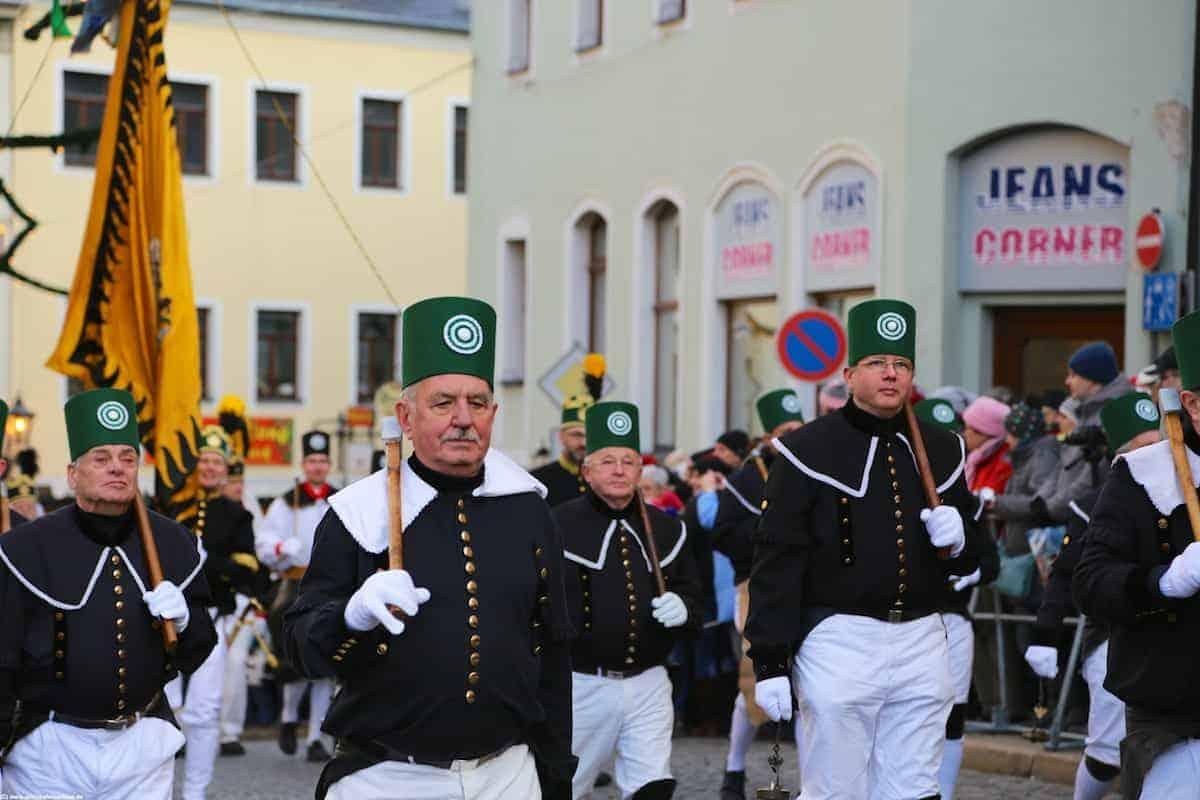 Bergmannsvereine aus allen Teilen Deutschlands