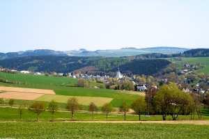 Blick auf Drehbach