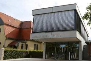 Eingangsbereich des August Horch Museums Zwickau