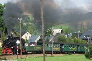 Fichtelbergbahn - Schmalspurbahn zwischen Cranzahl und Oberwiesenthal