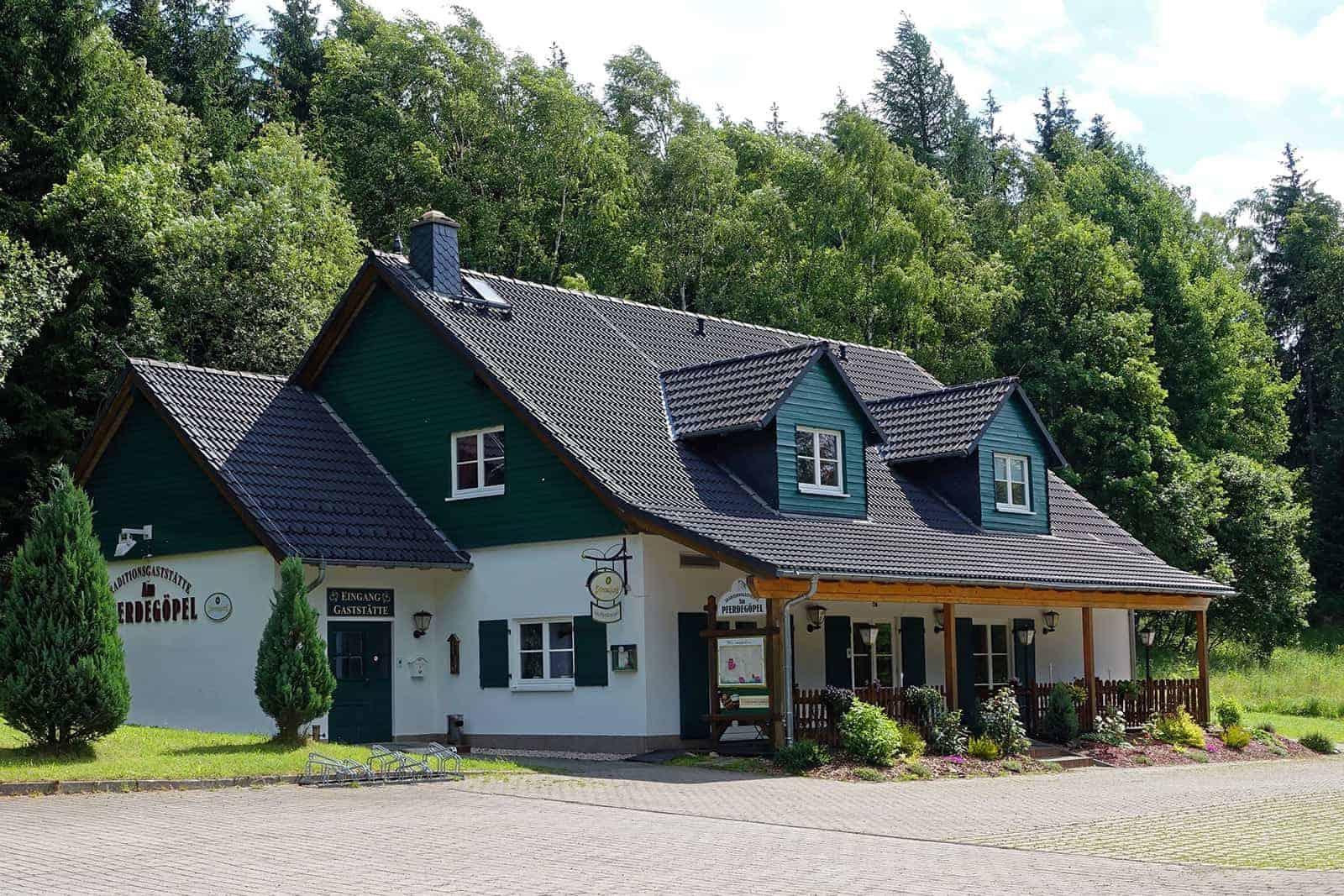 Gasthaus am Pferdegöpel in Johanngeorgenstadt