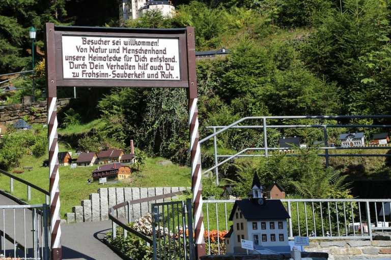 Willkommen in der Heimatecke in Waschleirhe - das Erzgebirge im Kleinformat