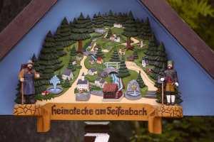 Heimatecke am Seifenbach in Waschleithe