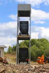 Hunte Transportsystem für Fördertürme
