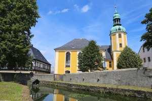 Kirche an der Burg Wolkenstein