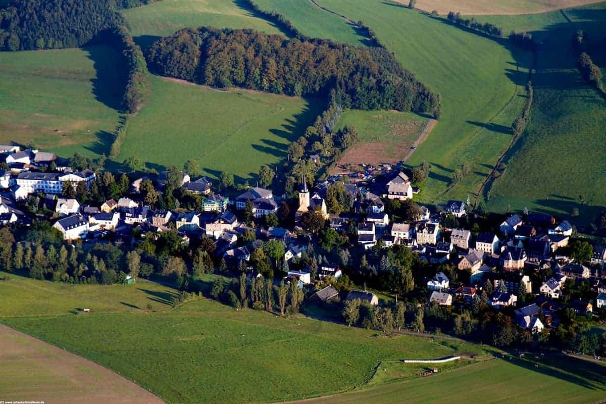 Luftaufnahme von Jahnsbach 1 |  Jahnsbach im Erzgebirge