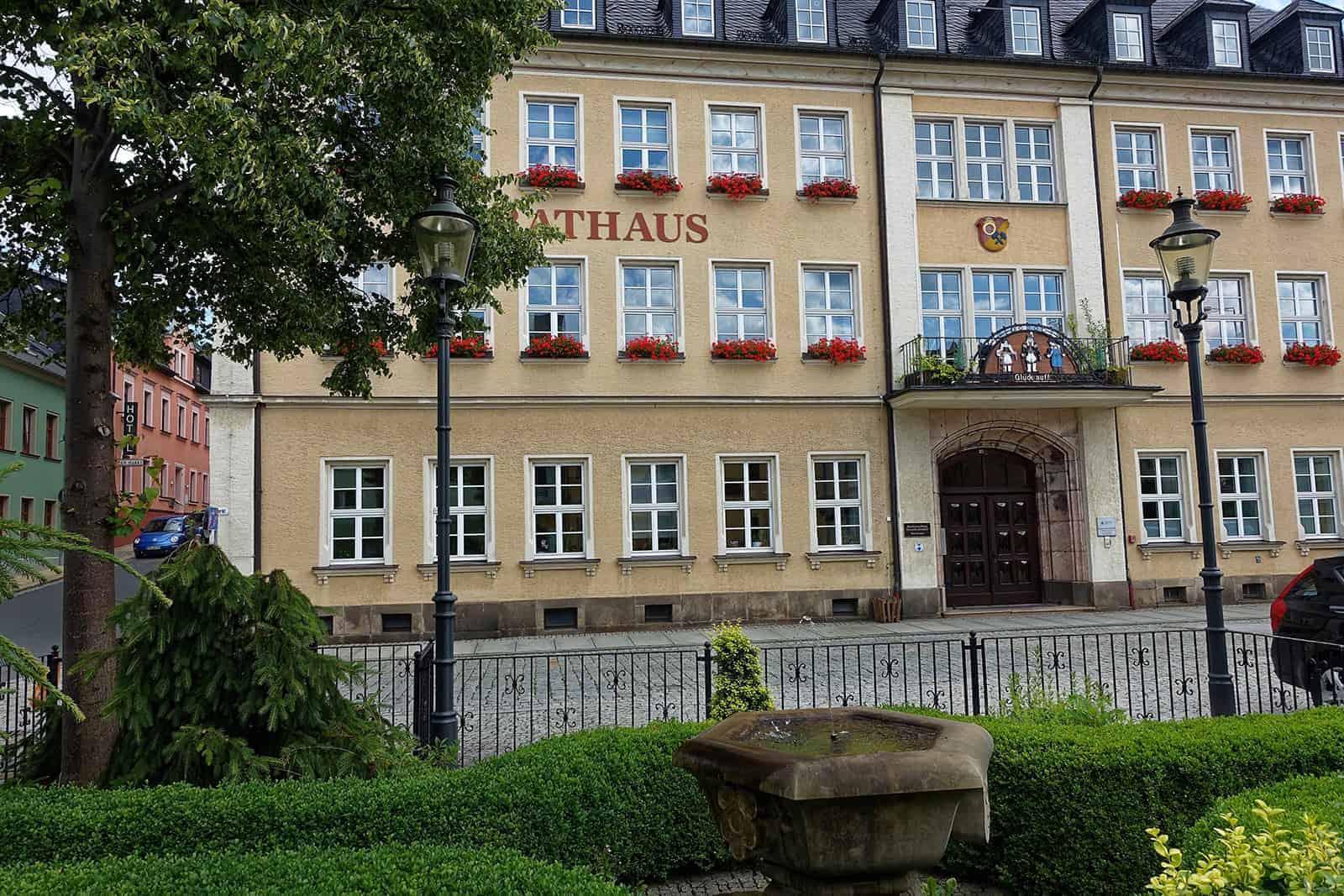 Rathaus Ehrenfriedersdorf |  Ehrenfriedersdorf im Erzgebirge