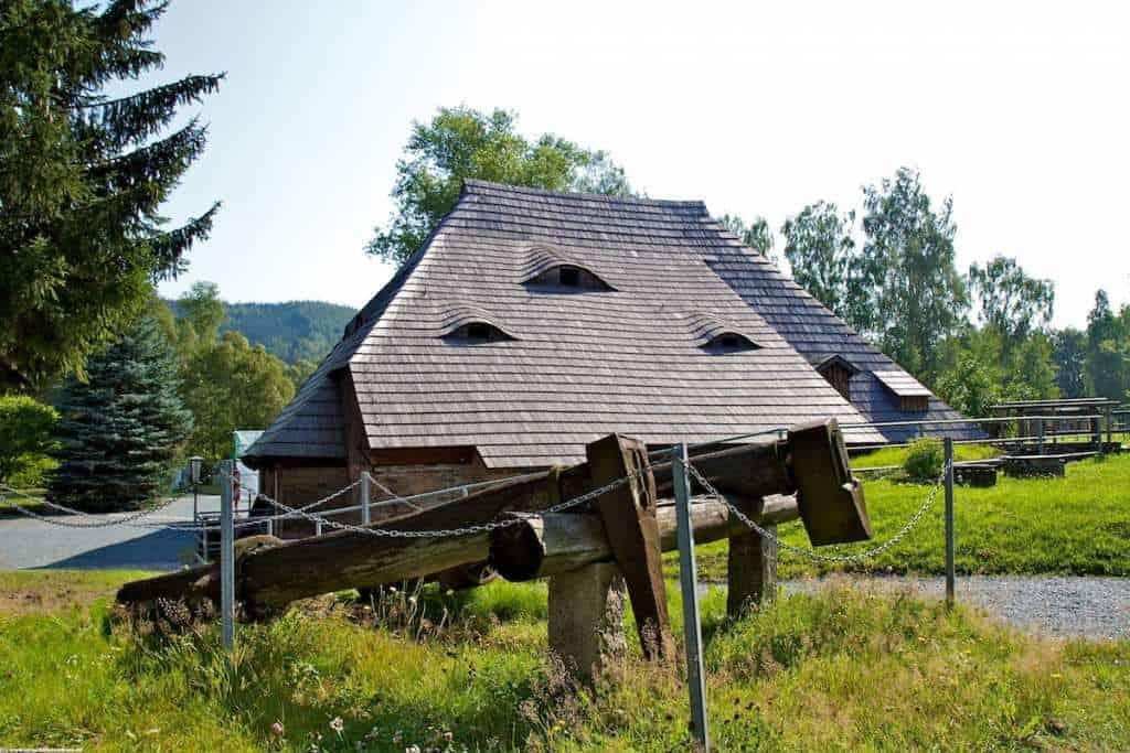 Saigerhütte Grünthal einem Ortsteil von Olbernahu im Erzgebirge.