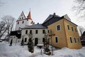 Schloss Schlettau im Winter