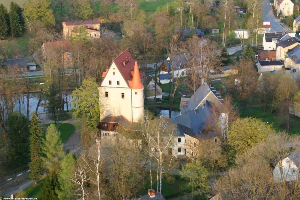 Schloss Schlettau an der Salzstrasse