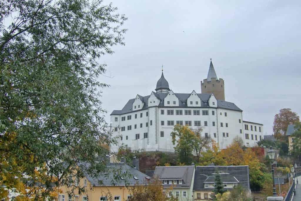 Schloss Wildeck Zschopau im Herbst