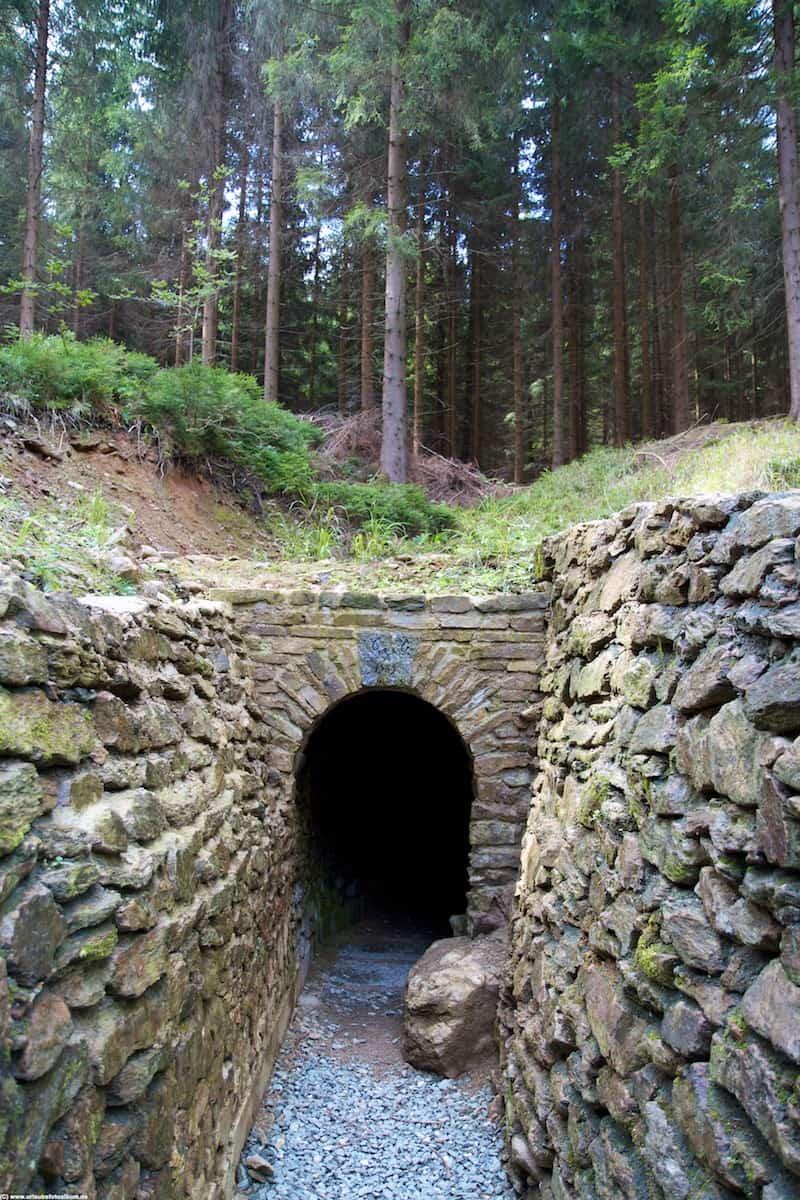 Wanderung im Greifenbachtal, der Garisch-Gegentrun-Stolln
