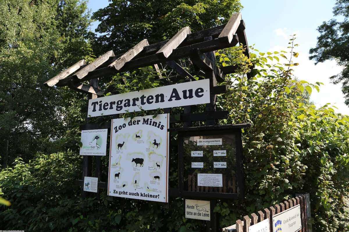 Zoo der Minis in Aue im Erzgebirge