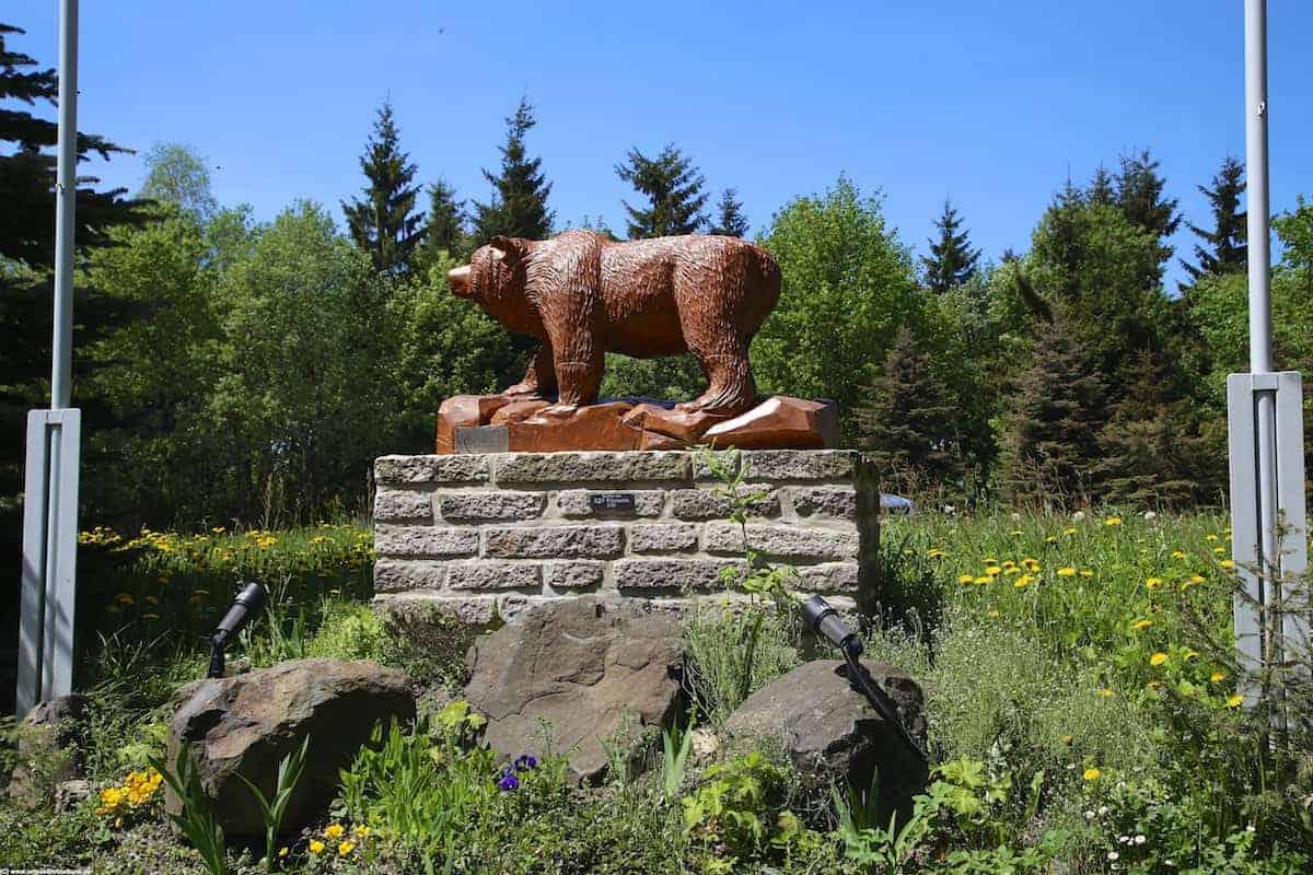 das Wahrzeichen des Bärenstein