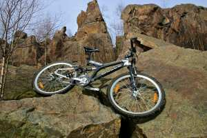 MTB in der Binge Geyer