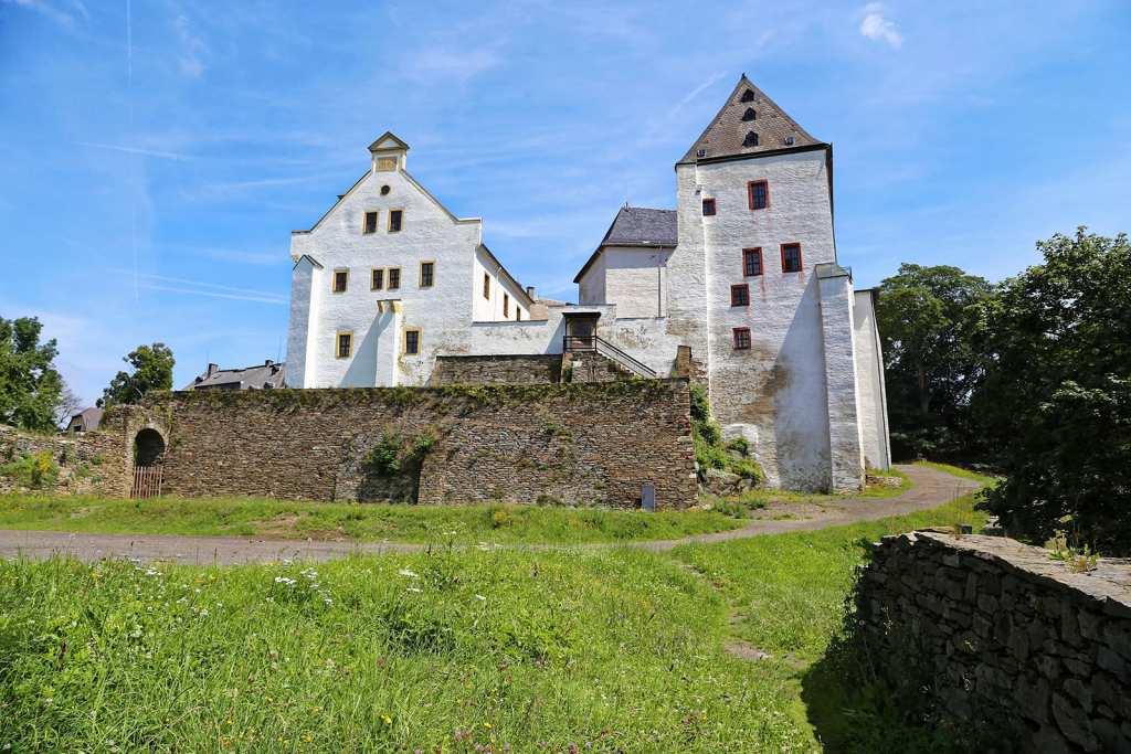 Schloss Wolkenstein Rückansicht