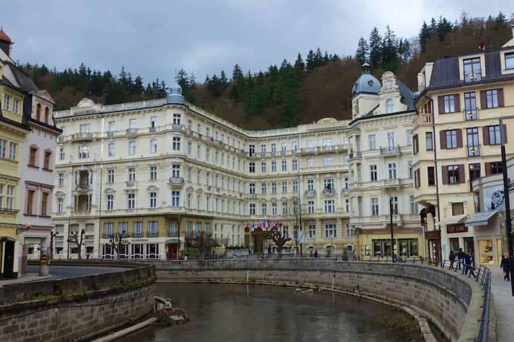 das Grandhotel Pupp - seit 1701 erstklassiger Service mit Stil in Karlsbad