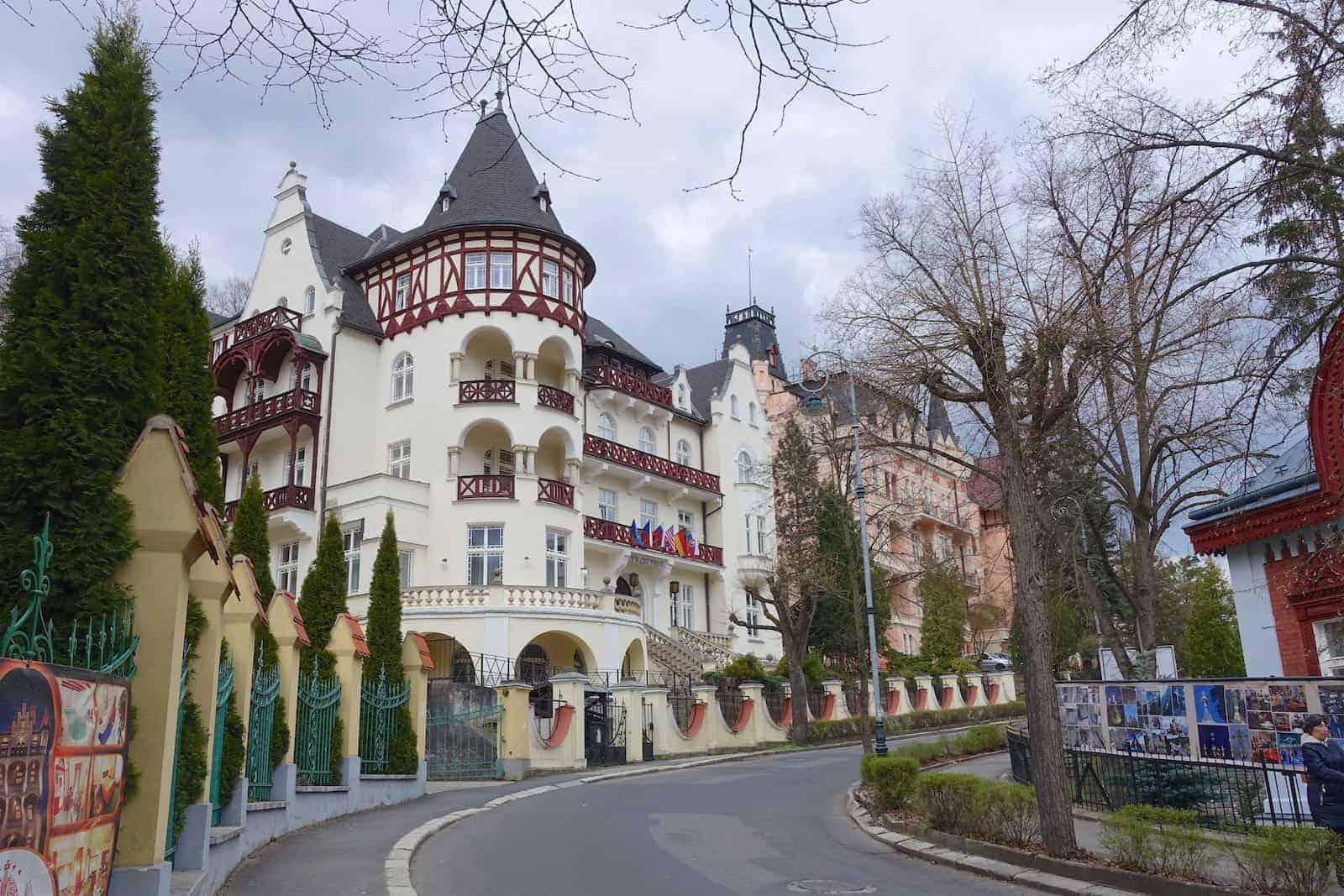 Karlsbad Villen im Westend