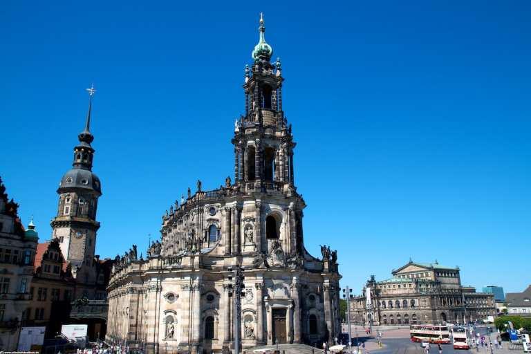Schlosskirche und Semperoper