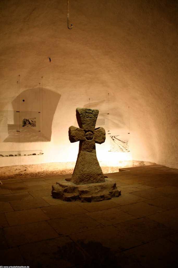 im Keller von Schloss Weesenstein
