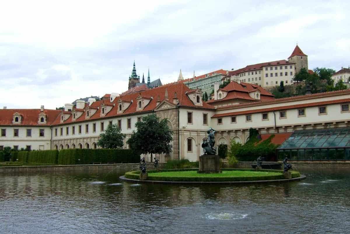 in den Gärten des Wallenstein-Palais in Prag