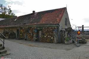 alte Bäckerei auf dem Gelände der Festung