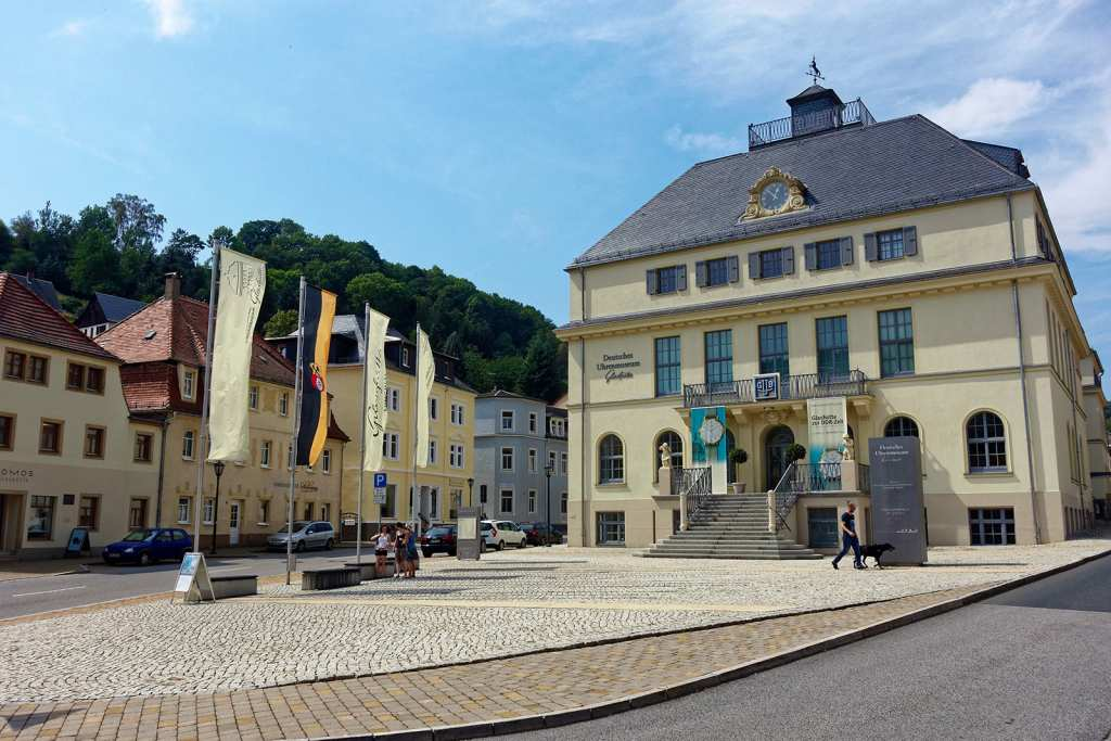 das Uhrenmuseum im sächsischen Glashütte