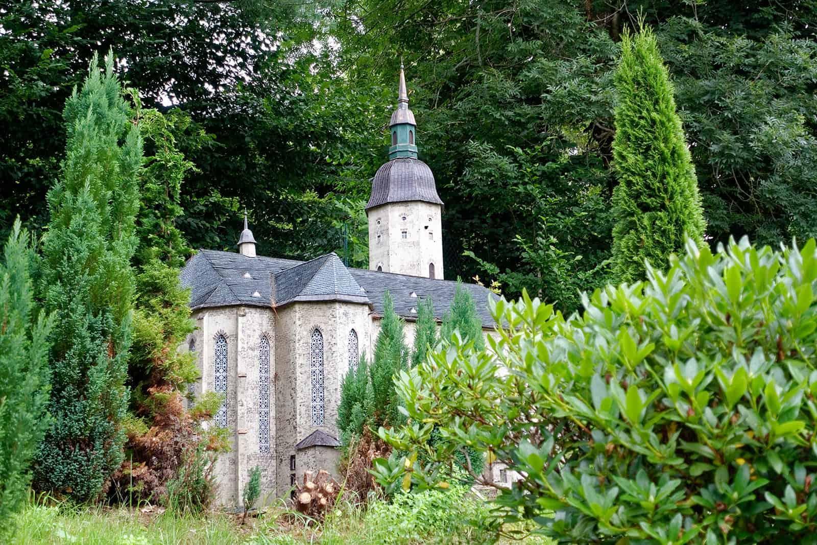 Minatur der Sankt-Annen-Kirche in Annaberg-Buchholz