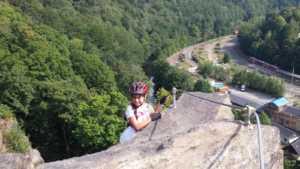 Klettersteige im Erzgebirge hier in Wolkenstein