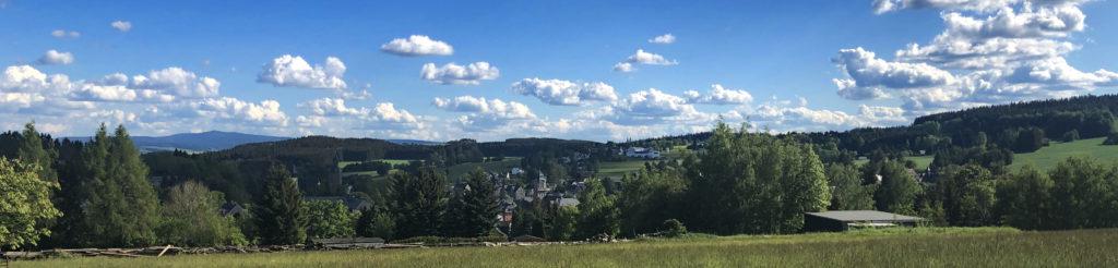 Panorama von Geyer